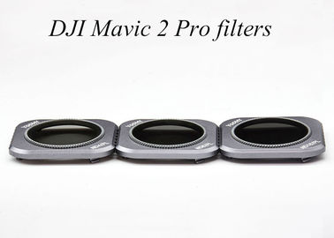 Os filtros 3 da câmera do pro zangão do ND/PL embalam o grupo para a objetiva do fantasma de Mavic 2 do zangão de DJI